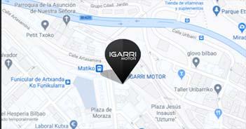 Localización Concesionario Igarri Motor Bilbao